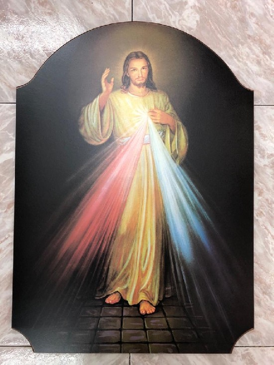 TABLA ICONO JESUS MISERICORDIOSO 97518